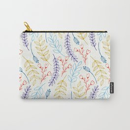 Natural Leaves Carry-All Pouch