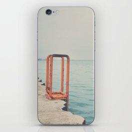 the orange steps ... iPhone Skin