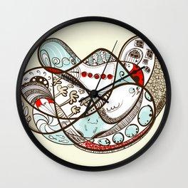 Like Molasses Wall Clock