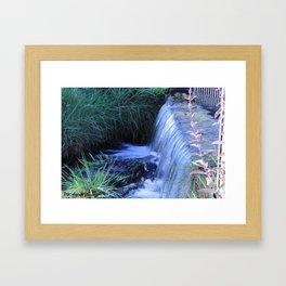Cascata Seta Framed Art Print