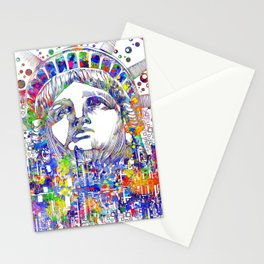 New York spirit of the city Stationery Cards