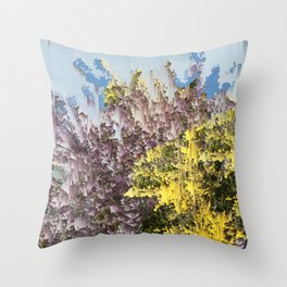 Interference #1 Throw Pillow