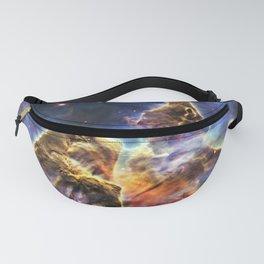 Carina Nebula Mystic Mountain Space Galaxy Fanny Pack