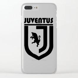 Slogan Juventus Clear iPhone Case