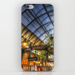 The Apple Market Covent Garden London iPhone Skin