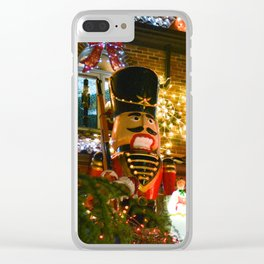 Nutcracker Clear iPhone Case