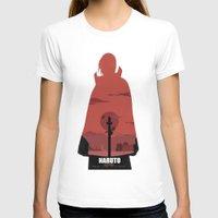 sasuke T-shirts featuring Naruto Shippuden - Itachi by ReachArt