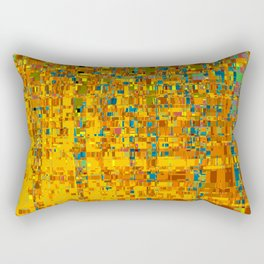 Abstract Klimt Rectangular Pillow
