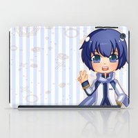 vocaloid iPad Cases featuring Kaito by Nozubozu