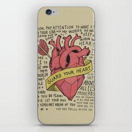 Guard Your Heart iPhone Skin