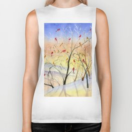 Winter Song Biker Tank