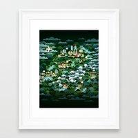 switzerland Framed Art Prints featuring Switzerland by Steebz