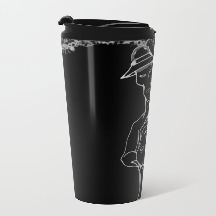 Self-Sacrifice Metal Travel Mug