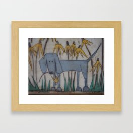 opps Framed Art Print