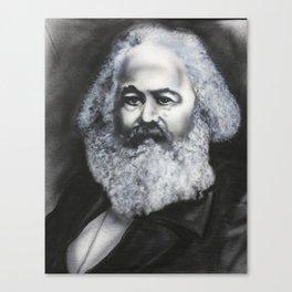 Marx: Glitter Beard Canvas Print