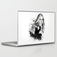 cara Laptop & iPad Skins featuring Cara by NZL Illustrations