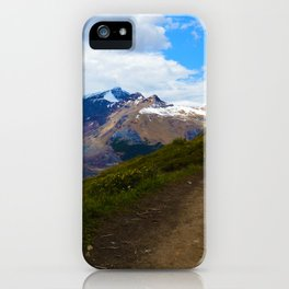 Athabasca & Snowdome Glaciers in Jasper National Park, Canada iPhone Case