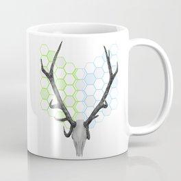 Stag Skull Coffee Mug