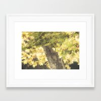 stay gold Framed Art Prints featuring Stay Gold by Honey Malek
