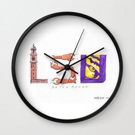 LSU - Geaux Tigers! Wall Clock