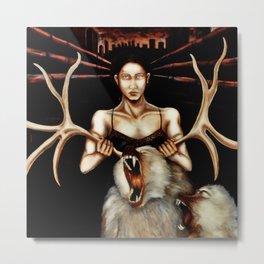 Icon Metal Print