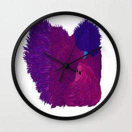 Silkie Chicken Clock Wall Clock