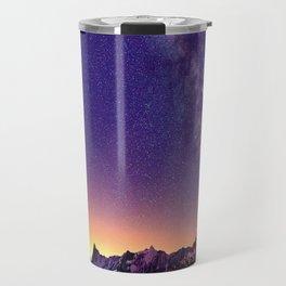 Sunset Mountain #stars Travel Mug