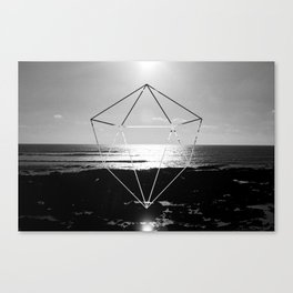 Ray-temple   Canvas Print