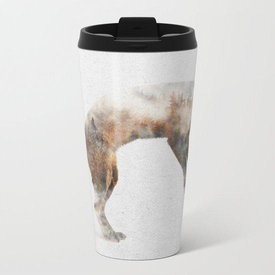 Jumping Fox Metal Travel Mug