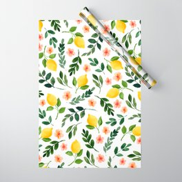 Lemon Grove Wrapping Paper
