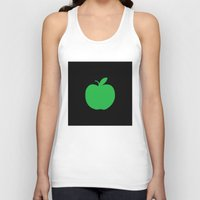 apple Tank Tops featuring Apple by Mr and Mrs Quirynen