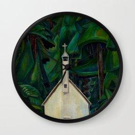 Emily Carr Indian Church Wall Clock