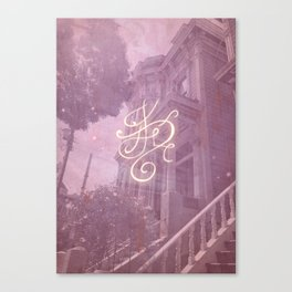 Sigil for a Happy Magical Household Canvas Print