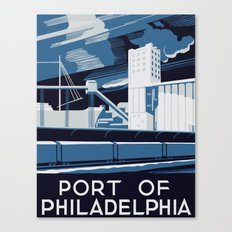 Port of Philadelphia Canvas Print