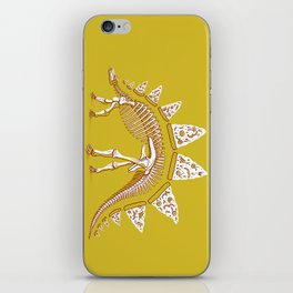Pizzasaurus Awesome! iPhone Skin
