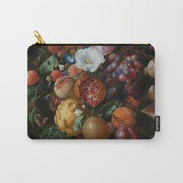 Antique Botanical IV [antique painting remixed] Carry-All Pouch