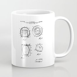 Magic Eight-Ball Patent Coffee Mug