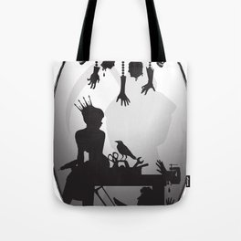 You're One Of Them, Aren't You? Dark Romance Valentine Tote Bag