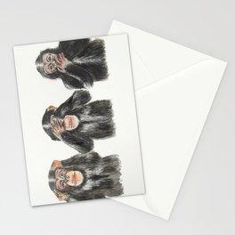 Hear No Evil, See No Evil, Speak No Evil Stationery Cards
