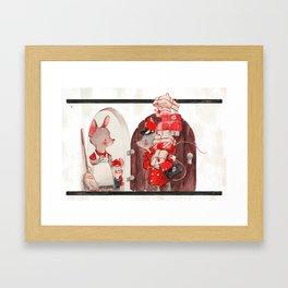 Christmice Framed Art Print