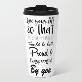 McGonagall Motto Travel Mug