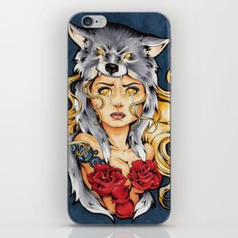 I Want You Safe iPhone Skin
