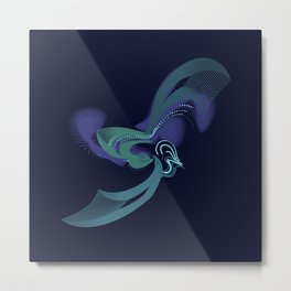 A Duck of a Different Color Metal Print