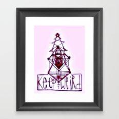 Keep it Weird Framed Art Print