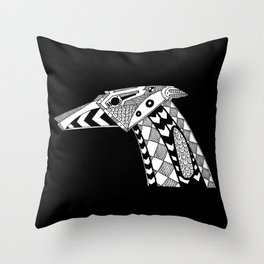 Robot dog Throw Pillow