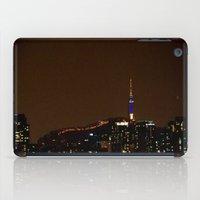 seoul iPad Cases featuring Seoul Night by Zayda Barros
