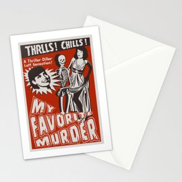 THRLLS AND CHILLS Stationery Cards