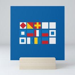NAUTICAL FOR PETE'S SAKE Mini Art Print