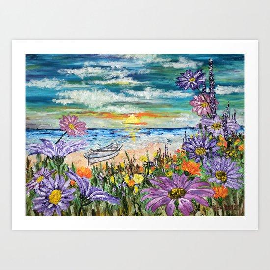 Returning Harmony Art Print
