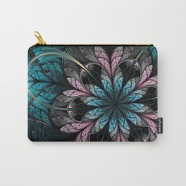 Flower III - Abstract Fractal Artwork Carry-All Pouch